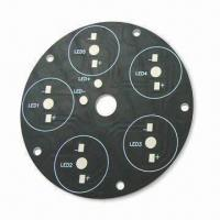 Wholesale Aluminum Base PCB with 1.6mm Board and 1oz Copper Thickness from china suppliers