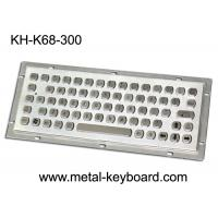 Wholesale SUS304 Metal Kiosk Industrial Computer Keyboard with IP65 Water Resistant from china suppliers