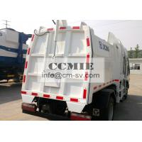 Wholesale PLC Electric Controlled Collecting Refuse Special Vehicles with 5000L Carriage Volume from china suppliers