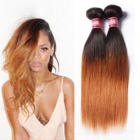 Wholesale Grade 7A Ombre Human Hair Extensions Ombre Brazilian Straight Hair from china suppliers
