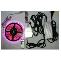 Wholesale Indoor / outdoor bright remote RGB LED Strips Light 12v 24v flexiable PCB Material from china suppliers