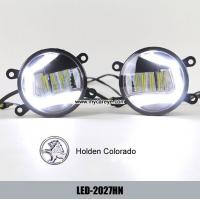Wholesale Holden Colorado car fog light installation upgrade DRL LED daytime lights from china suppliers