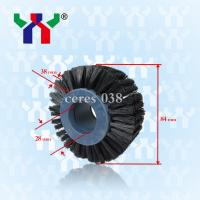 Wholesale hard bristle Brush wheel For Pressing Paper ceres 038 from china suppliers