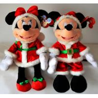 Wholesale 18inch Fashion Disney Christmas Mickey Mouse and Minnie Mouse Plush Toys from china suppliers