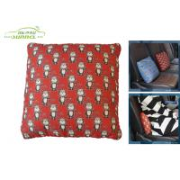 Wholesale 30x30cm Monkey Travel Pillow Car Comfort Accessories with Embroidery Logo from china suppliers