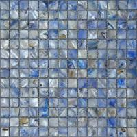 Wholesale Natural Blue Mother Of Pearl Shell Mosaic Tile For Living Room Decoration from china suppliers