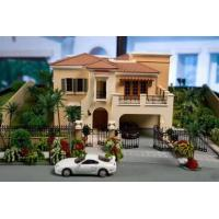 Architectural 3d scale maquette model with car 3d house for 3d house model maker