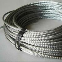 Buy cheap Galvanized Stainless Steel Wire Rope 6 x 36 Grade 300 Series , 0.3mm - 50mm from wholesalers
