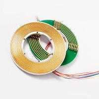 Wholesale Precious Metal Pancake Slip Ring 12 Circuits Aluminum Alloy Housing from china suppliers