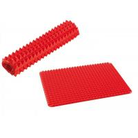 Wholesale Protable Red Pyramid Silicone Kitchenware Mat 40*30 Cm Easy To Storage from china suppliers