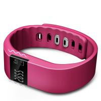 Wholesale OLED Pink BluetoothSmart Watches Call and Message Reminder from china suppliers