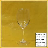 Wholesale Swarovski Crystal Red Goblet Wine Glass , Decorative Wine Glasses For Party from china suppliers