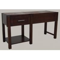 Wholesale 1 Drawer Plywood Modern Bathroom Vanity Cabinets Birch Veneer Dark Stain Color from china suppliers