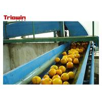 Wholesale Automation Orange Juice Processing Line , Fruit Juice Manufacturing Plant Orange Extractor from china suppliers