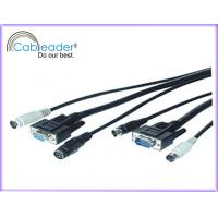 Wholesale Computer Cables KVM Cable 1xSVGA HD15P male to HD15P female from china suppliers