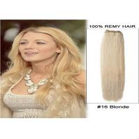 Wholesale Double Weft Virgin Peruvian Hair Colored Human Hair Extensions 24 Inches from china suppliers