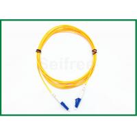 Wholesale Simplex Single Mode Fiber Optic Patch Cord LC/UPC to LC/UPC G657A from china suppliers