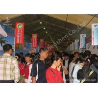 Quality 15M Width 850gsm PVC Fabric Cover Ultraviolet proof Outdoor Event Canopy Tent for sale