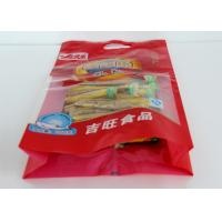 Quality Eco Friendly Custom Printed Packaging Bags / Plastic Food Packing Bag for sale
