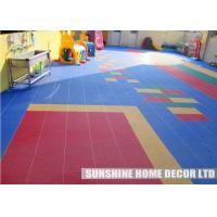Wholesale Synthetic Plastic Playground Safety Surfacing Kindergarten Flooring Anti Slip For Play Area from china suppliers