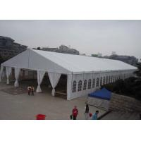 Wholesale Large Trade Show Durable Aluminum Frame Tent Waterproof White Pvc Fabric Cover from china suppliers