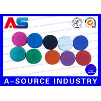 Wholesale Plain  Vial Glass Bottle Caps  Flip Off Lids For Serum Vials Various Colours from china suppliers