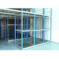 Wholesale Customized Supply Chain Auto Parts Rack , Durable 4S Warehouse Storage Racks from china suppliers