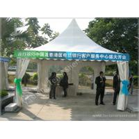 Wholesale Outdoor Aluminum Frame High Peak Tents , Pagoda Corporate Event Tent from china suppliers