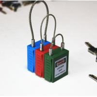 Quality G32 38mm steel wire Padlock , Safety steel lockout for sale