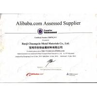 SHAANXI CXMET TECHNOLOGY CO.,LTD Certifications