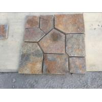 Wholesale Rustic Quartzite Flagstone Flooring Natural Stone Pavers Quartzite Flagstone Wall Stone from china suppliers