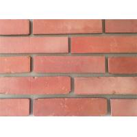 Wholesale 3D51-3 Clay Thin Veneer Brick Turned Color Veneer Brick With Smooth Surface Edge Damages Style from china suppliers