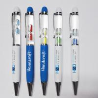 Wholesale High Quality Professional Custom Logo Promotional 3D Liquid Floating Pen from china suppliers