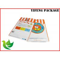 Buy cheap customer's design and colorful printing laminated foil pet food bags with window and zipper from wholesalers