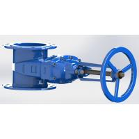 Wholesale Handwheel Operated Water Gate Valve Epoxy Coated / Non Rising Stem Available from china suppliers