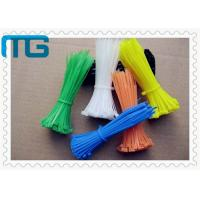 Wholesale Insulated Nylon Tie Wraps 60mm - 1200mm Reusable Cable Ties For Industry from china suppliers