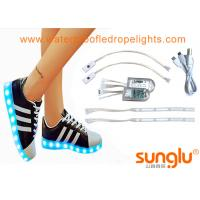 Wholesale Different colors LED Shoe Light , Sole Footwear Decoration , LED Flashing Shoes from china suppliers