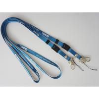 Wholesale 1cm Blue Silk Screen Printed lanyard with Metal Rivet, Rivet Camera Lanyards from china suppliers