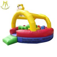 Wholesale Hansel hot selling commercial inflatable jumping bouncer castle inflatable playground manufacturer from china suppliers