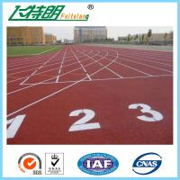 Wholesale Synthetic Recycled  Plastic Running Track Surfaces Rubber Flooring Materials from china suppliers