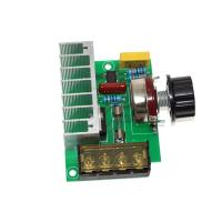 Wholesale 4000W 0-220V AC Voltage Arduino Sensor Module Regulator Motor Speed Controller Power Module from china suppliers