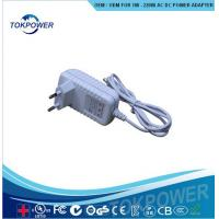 Wholesale 12W Digital Power Adapter 12v 1A AC DC power adapter for DVBS IEC EN 60601 from china suppliers