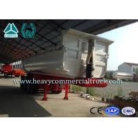 Wholesale 45CBM Hydraulic Cylinder Tri-axle Tipper Semi Trailer Heavy Duty Transport from china suppliers