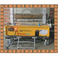 Quality Ez Renda Automatic Rendering Machine With PLC For Block Wall 1000MM Length of Plastering Trowel Hydraulic System for sale