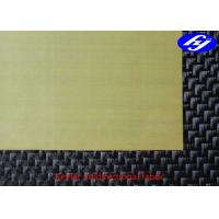 Wholesale High Performance Aramid Fiber Fabric 2ply 0 / 90 Kevlar Fiber Unidirectional Fabric from china suppliers