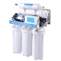 Quality 5 Stages Stand Osmosis Reverse Water Filter System With Oil Pressure Meter for sale