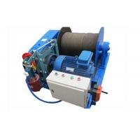 Wholesale Wire Rope Electric Hoist Winch For Pulling With Fail Safe Brake 3 Phase Voltage from china suppliers