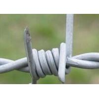 Wholesale BWG12*12 , 12*14 Galvanized High Tensile Barbed Wire Used For Security , Defend from china suppliers
