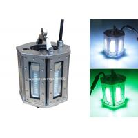 Wholesale 1000W 316LSS Green Night LED Fishing Lights for Attracting Fish, Fish Farming Cages from china suppliers