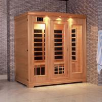 Wholesale Monalisa I-003 European style far infrared sauna room light wave room light wave massage cabin infrared sauna enclosure from china suppliers